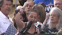 「恥を知れ」 NRA寄付受ける政治家に銃撃被害の米高校生
