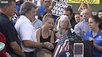 Nữ sinh phản đối việc dùng súng tại Hoa Kỳ