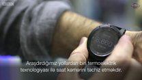 Bədən istiliyi hesabına işləyən saat