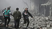 Syria: 'More than 70' killed in Eastern Ghouta
