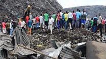 Rubbish dump collapse kills