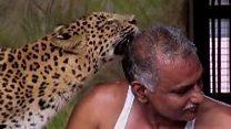 Індієць, який живе з ведмедями і гепардами