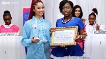 Modelos autistas fazem sucesso e viram garotas-propaganda em Gana
