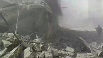 सीरिया में विद्रोहियों के कब्ज़े वाले इलाक़े में बड़ा हमला