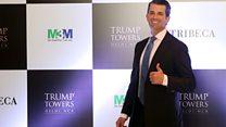 Trump Jr's passage to India causes a stir