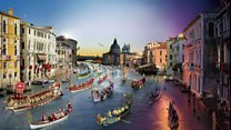 What's so different about this view of Venice?