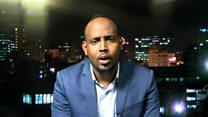 Cabdullahi Xasan wuxuu ka mid yahay howl-wadeennada hay'adda HRW ee Afrika