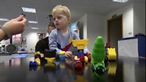 Meet the two-year-old beating paralysis one step at a time