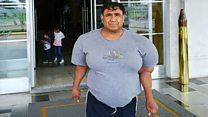 """""""Yo quiero volver a bucear"""", Alejandro Ramos, el buzo peruano que quedó deformado después de un accidente en el mar"""