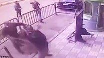 Дитина випала з вікна в обійми поліцейського