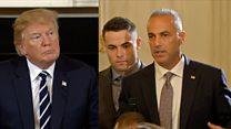 Victim's father tells Trump of rage