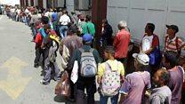 """""""Nos toca venir a comer aquí todos los días"""", el comedor social que sirve unas 1000 comidas al día en Caracas"""