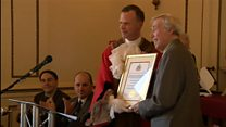 Gordon Banks nets freedom of borough