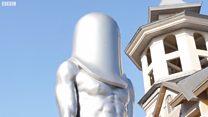 Bức tượng kỳ lạ ở Thế vận hội Mùa đông