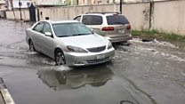 Rain don come and flood don follow am for Lagos