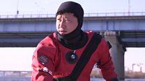 Cómo trabaja el equipo de rescatistas de suicidas en los ríos de Seúl, en Corea del Sur