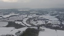 Snow covers parts of Kent