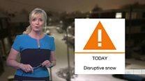 Snow warnings continue across UK