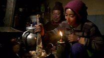 लद्दाख में सौर ऊर्जा से रोशनी