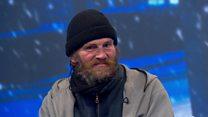 Homeless man: 'I hope I wake up in the morning'
