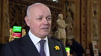 Major's 'Damascene conversion' to free votes - IDS