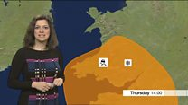 Wales forecast: Amber snow warning