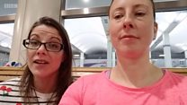 Passengers stranded overnight at Glasgow Airport