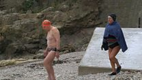 Clevedon swimmers