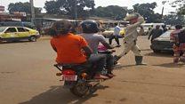 Guinée, motos