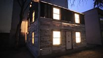 Why has Rosa Parks' house travelled 8,000 miles?