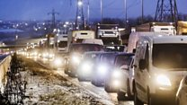 'I've been sat on M62 all night'