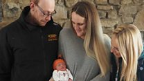 Surprise baby born during 999 call