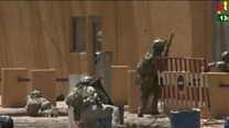 Soldiers tackle Burkina Faso attackers