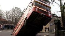 When a bus was swallowed by sinkhole