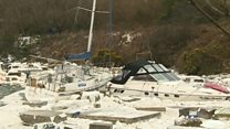 80 boats damaged or sunk by storm