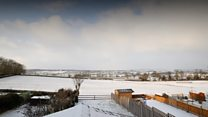 Time-lapse captures 'white out'