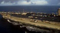 On the US warship off Vietnam's coast