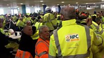Sit-in protest at Hinkley Point C