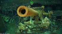 WW2 US aircraft carrier wreck found