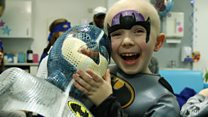 From radiotherapy mask to brave superhero!