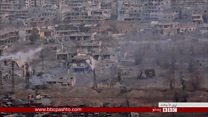 سوریه کې بمبارۍ لا هم روانې دي،