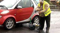 Devon vigilante Reg battles 'potholes plague'