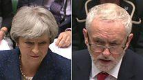 Corbyn and May clash on UK-Saudi policy