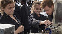 Prince Harry backs young engineers