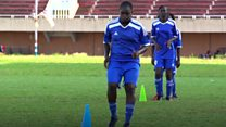 The Gambian footballer tackling marriage