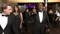 Watch McDormand's Oscar being stolen