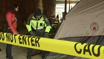 Homeless swept up in US capital clean-up