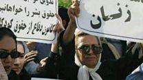 جلوگیری نیروی انتظامی از تجمع زنان در روز زن