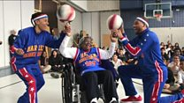 Turning 109 with The Globetrotters