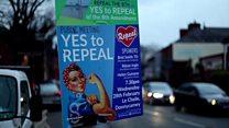 Abortion referendum: Two women's stories